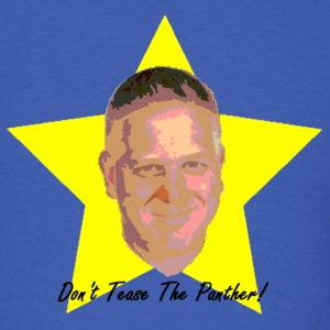 Glenn Beck's Face In A Star - Don't Tease The Panther! - Men's T-Shirt