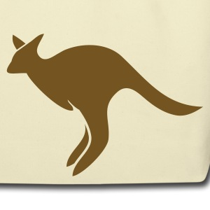Creme jumping kangaroo Australia  Bags  - Eco-Friendly Cotton Tote