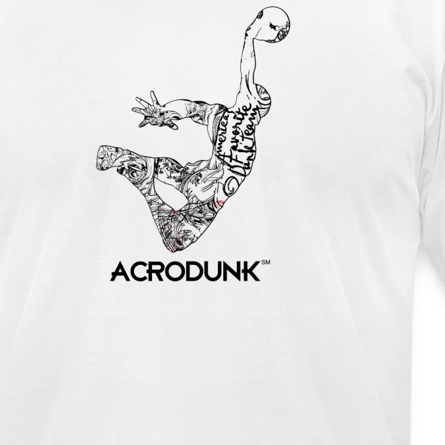 ACRODUNK america's best tee fitted