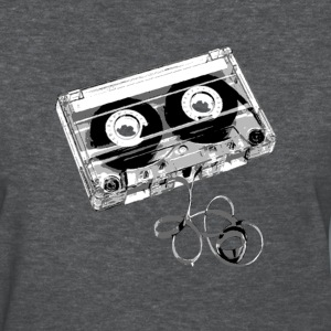 Deep heather cassette_tape_exposed Women's T-Shirts - Women's T-Shirt