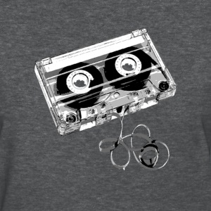 cassette black and white - Women's T-Shirt