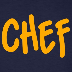 Navy Chef T-Shirts - Men's T-Shirt