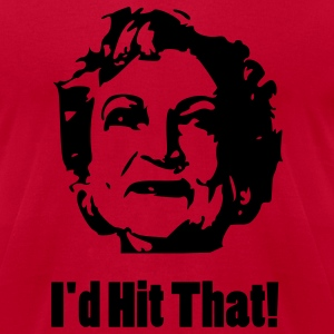 I'd Hit That - Men's T-Shirt by American Apparel