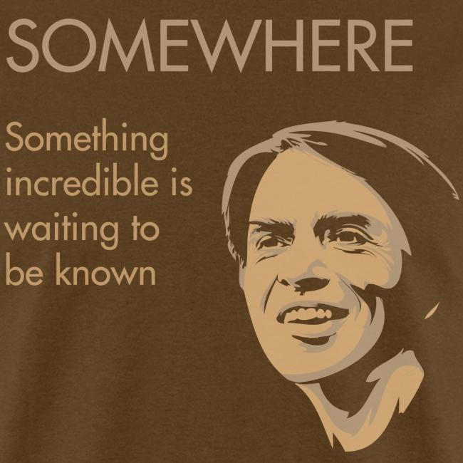 Carl Sagan - Somewhere