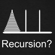 Design ~ Hanoi Recursion (on Dark)