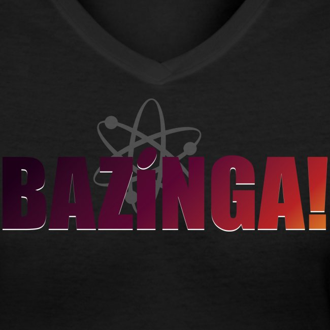 Bazinga! (Girls V-Neck)