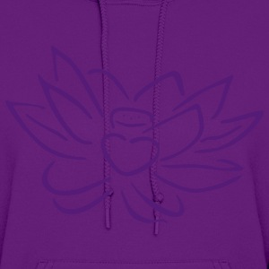 Light pink Lotus heart Hoodies - Women's Hoodie