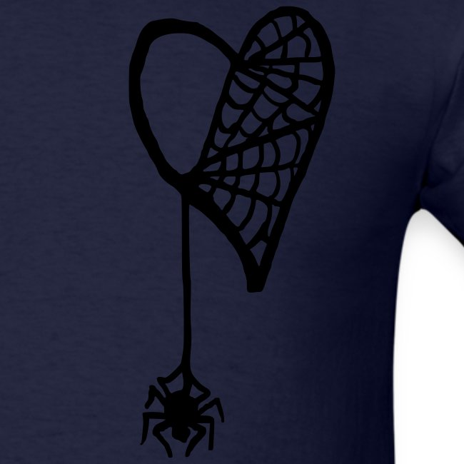 Cobweb Heart Tee