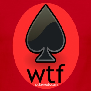 wtf PokerGob - Men's Ringer T-Shirt