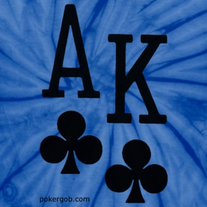 Ace King Poker Shirt - Unisex Tie Dye T-Shirt