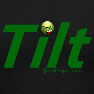 Tilt PokerGob - Women's V-Neck T-Shirt