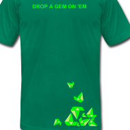 Design ~ Drop a Gem men (emeralds)