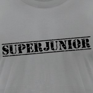 Slate super_junior1 T-Shirts - Men's T-Shirt by American Apparel