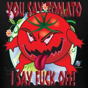 Pissed Off Tomato T Shirt - Men's T-Shirt
