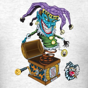 Evil Clown T Shirt Jack in the Box II - Men's T-Shirt