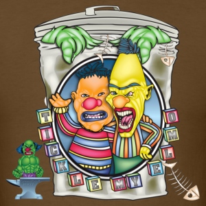 Evil Clown T Shirt Burt N' Ernie - Men's T-Shirt