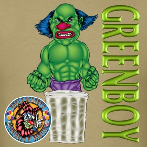 Evil Clown T Shirt Hulk Style - Men's T-Shirt