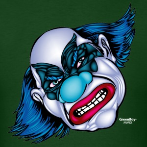 Evil Clown T Shirt Mascot Uncle Scabby - Men's T-Shirt