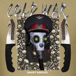 cold war gas mask - Men's T-Shirt