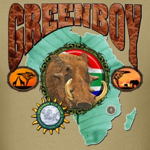 GREENBOY Warthog - Men's T-Shirt