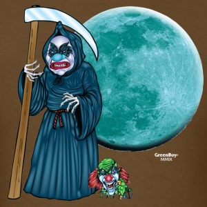 Evil Clown T Shirt Grim Reaper - Men's T-Shirt