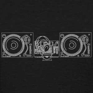 DJ Turntables 1 - Women's T-Shirt