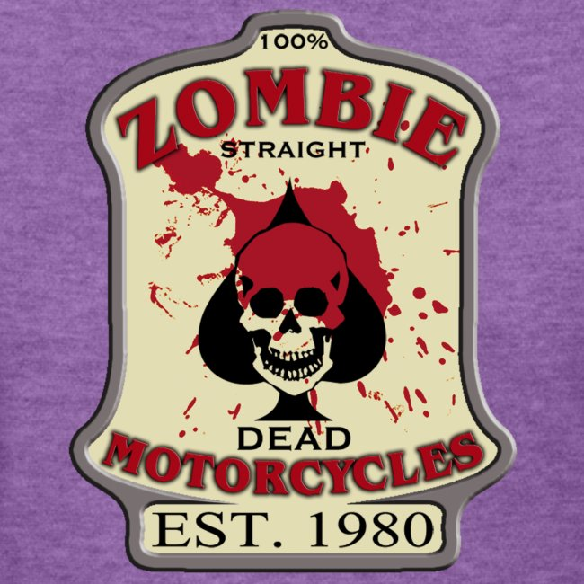 Womens Standard Zombie Motorcycles