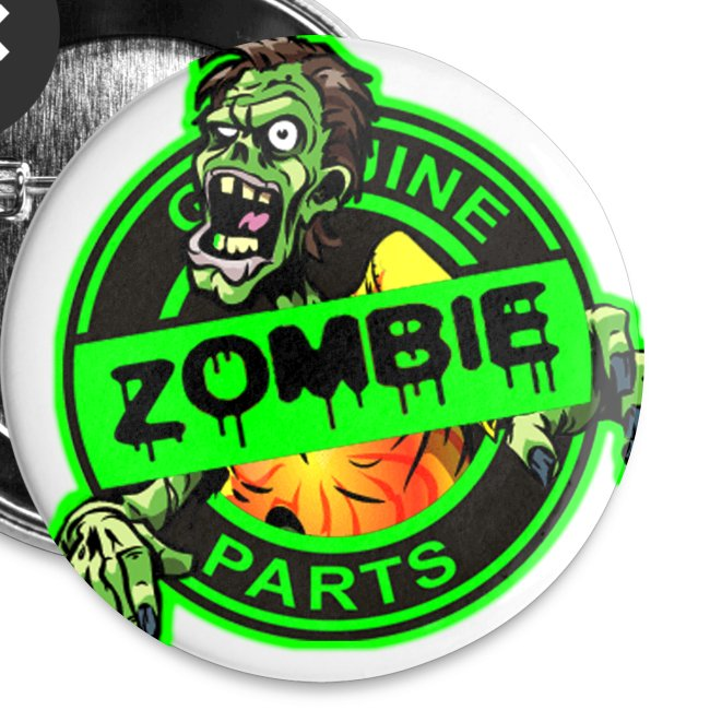 Zombie Parts Pins