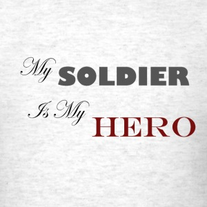 Light oxford Soldier Hero T-Shirts - Men's T-Shirt