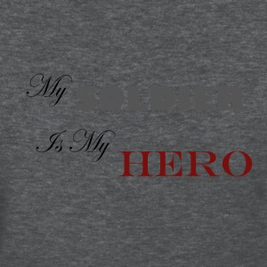 Deep heather Soldier Hero Women's T-Shirts - Women's T-Shirt