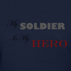 Navy Soldier Hero Women's T-Shirts - Women's T-Shirt