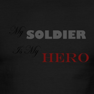 Green/white Soldier Hero T-Shirts - Men's Ringer T-Shirt