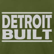 Design ~ Detroit Clothing Built Men's American Apparel Tee