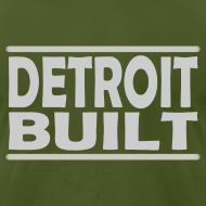 Design ~ Detroit Clothing Built Men's American Apparel Tee