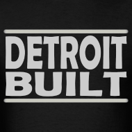 Design ~ Detroit Clothing Built Men's Standard Weight T-Shirt