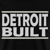 Design ~ Detroit Clothing Built Men's Standard Weight T-Shirt