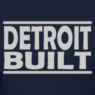 Design ~ Detroit Clothing Built Women's Standard Weight T-Shirt