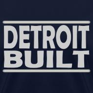 Design ~ Detroit Clothing Built Women's Standard Weight T-Shirt