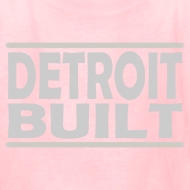 Design ~ Detroit Clothing Built Kid's T-Shirt