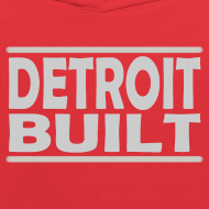 Design ~ Detroit Clothing Built Children's Hooded Sweatshirt
