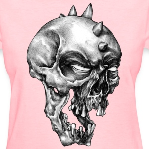 Spikey Skull - Women's T-Shirt