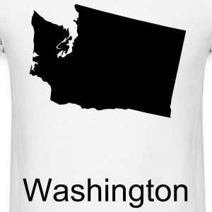 White washington T-Shirts - Men's T-Shirt