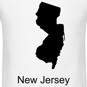 White new jersey T-Shirts - Men's T-Shirt