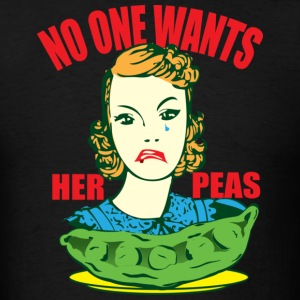 Her Peas - Men's T-Shirt