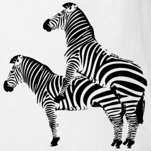 Two Headed Zebra - Men's T-Shirt