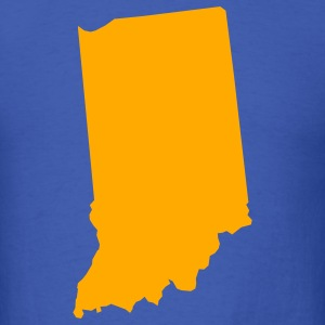 Royal blue indiana T-Shirts - Men's T-Shirt