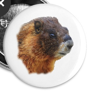 Marmot, Portrait - Small Buttons