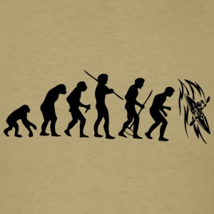 Evolution_Kayak_Black - Men's T-Shirt