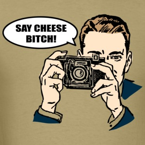 Say Cheese - Men's T-Shirt
