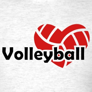 Light oxford Love  Volleyball T-Shirts - Men's T-Shirt